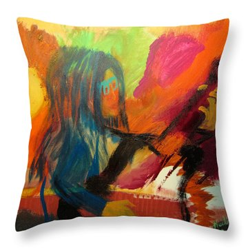 Marianne Throw Pillow by Keith Thue