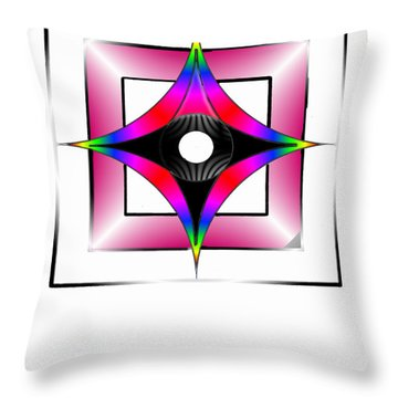 Marie Bartley Throw Pillow by Ahonu