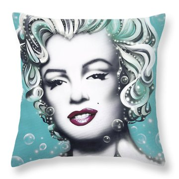 Leading Actress Throw Pillows