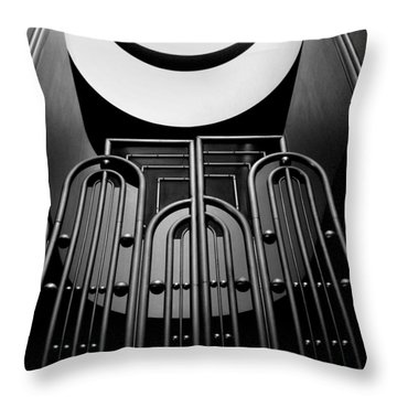 Marin County Government Complex Gate Throw Pillow