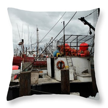 Marina 009 Throw Pillow by Dorin Adrian Berbier