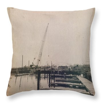 Marina 2 Throw Pillow by H James Hoff
