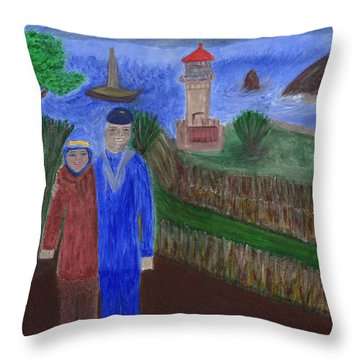 Mariner's Cove  Throw Pillow