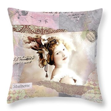 Marinette Throw Pillow