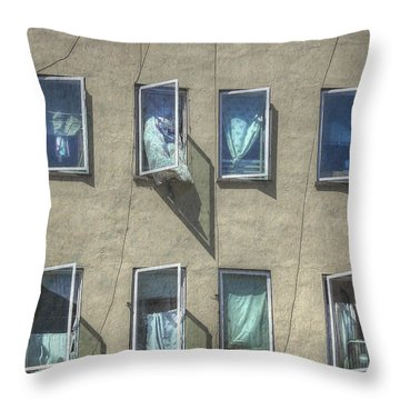 Throw Pillow featuring the photograph Marionette  by Kandy Hurley