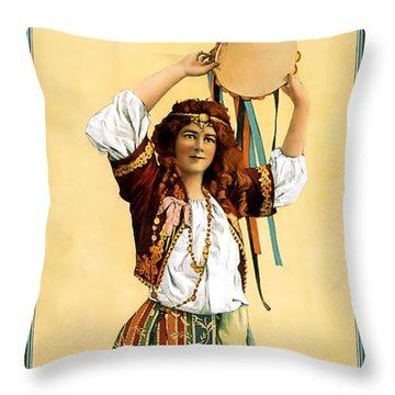 Maritana Throw Pillow by Terry Reynoldson