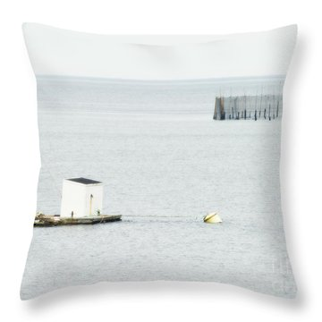 Maritime Dreams... Throw Pillow by Nina Stavlund