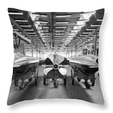 Mark 15 Torpedo Factory Throw Pillow