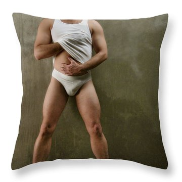 Mark 4 Throw Pillow