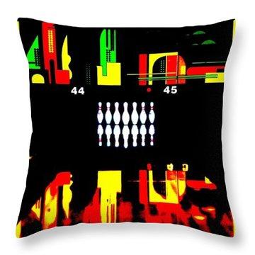 Mark It Zero Throw Pillow by Benjamin Yeager