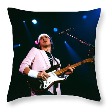 Mark Knopfler 1 Throw Pillow