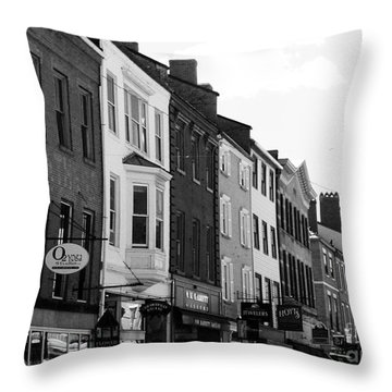 Market Street Throw Pillow