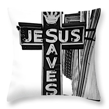 Market Street Mission Throw Pillow