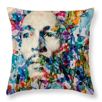 Marley 2 Throw Pillow