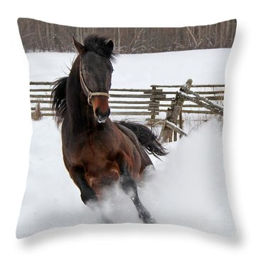 Marley And Me Throw Pillow