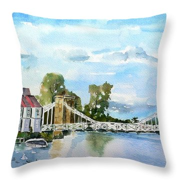 Marlow On Thames 2 Throw Pillow