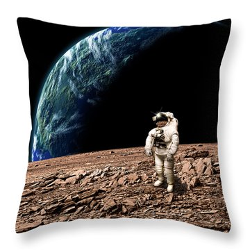 Marooned No.4b  Throw Pillow