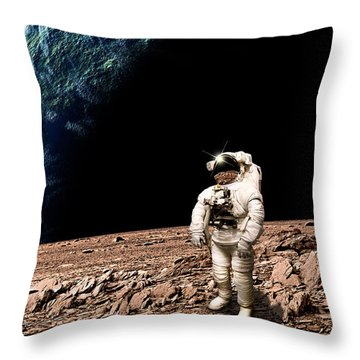 Marooned No.4bv  Throw Pillow