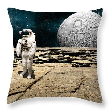 Marooned No.5 Throw Pillow