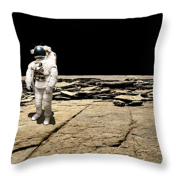 Marooned No.5b Throw Pillow