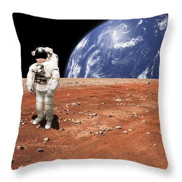 Marooned No.8 Throw Pillow
