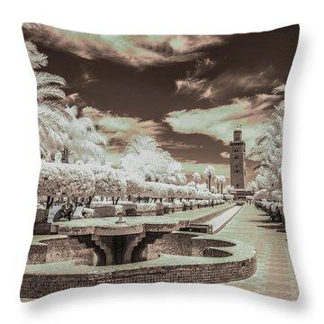 Marrakech - La Koutoubia Throw Pillow