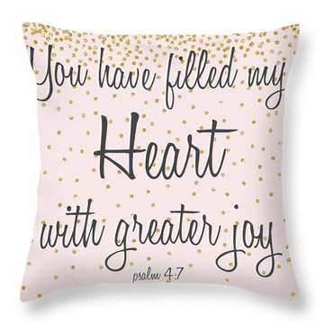 Marry Hearts I Throw Pillow