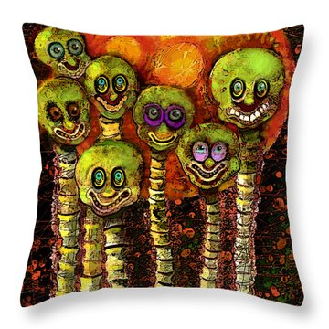 Mars Curiosity  Throw Pillow