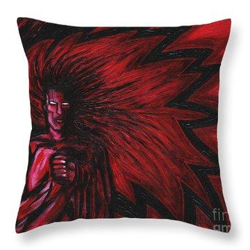 Mars Rising Throw Pillow