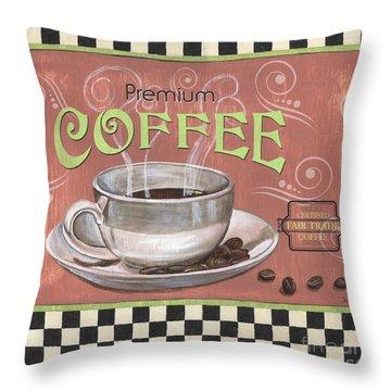 Marsala Coffee 2 Throw Pillow