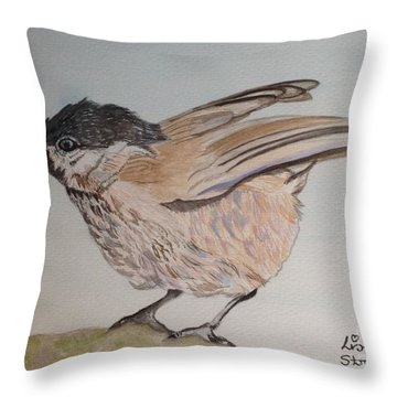 Leighton Moss Throw Pillows
