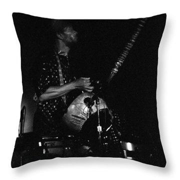 Marshall Allen Plays Strings  Throw Pillow