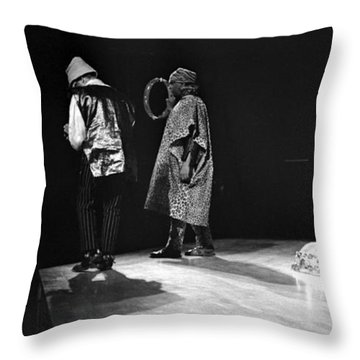 Marshall And Sonny 1968 Throw Pillow by Lee  Santa