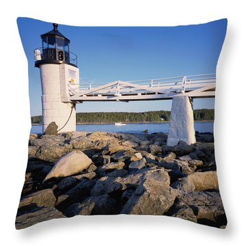 Marshall Point Light Throw Pillow