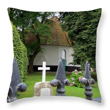Marstal Church Throw Pillow
