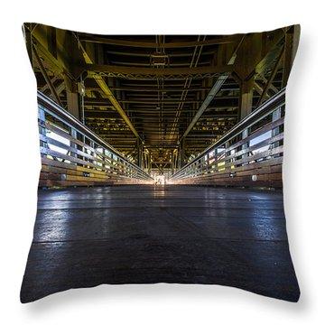 Marsupial's Eye View Throw Pillow by Randy Scherkenbach
