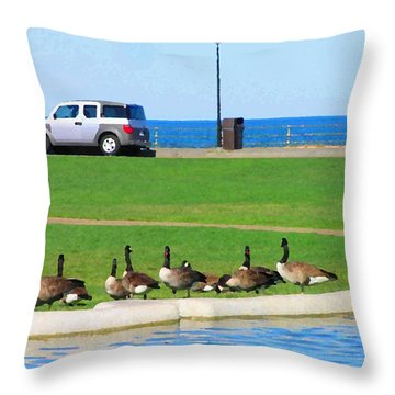 Martha Vineyard Throw Pillow
