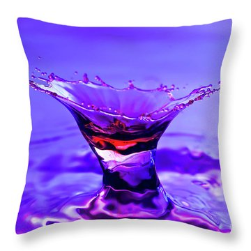 Martini Splash Throw Pillow