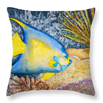 Martinique Angel Throw Pillow