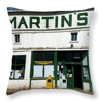 Martin's Throw Pillow