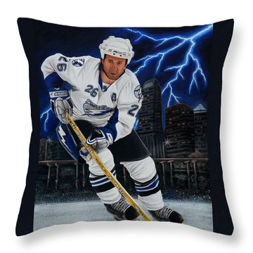 Marty Throw Pillow by Marlon Huynh