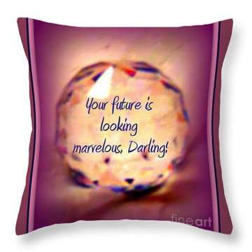 Marvelous Darling Throw Pillow by Bobbee Rickard