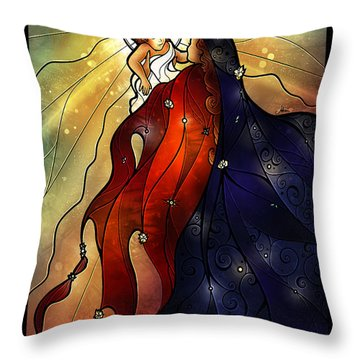 Mary Did You Know Throw Pillow
