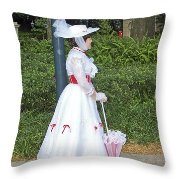 Mary Poppins - Epcot Throw Pillow