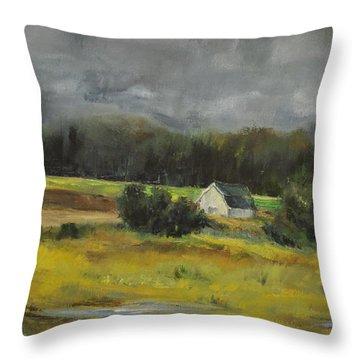 Maryland Barn Throw Pillow