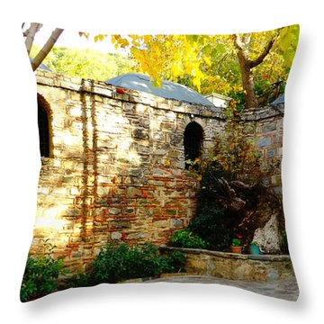 Mary's House Throw Pillow