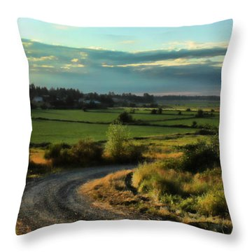 Marysville Valley Throw Pillow