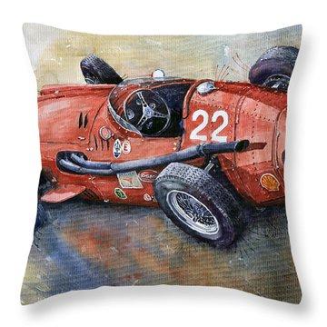 Maserati 250 F 1957  Throw Pillow