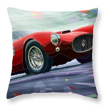 Maserati A6gcs Berlinetta By Pininfarina 1954 Throw Pillow