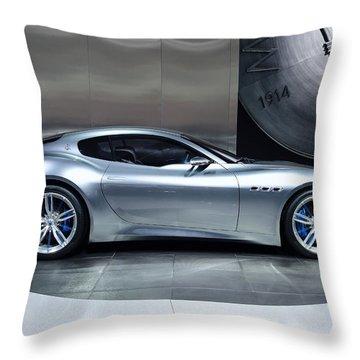 Maserati Alfieri Throw Pillow